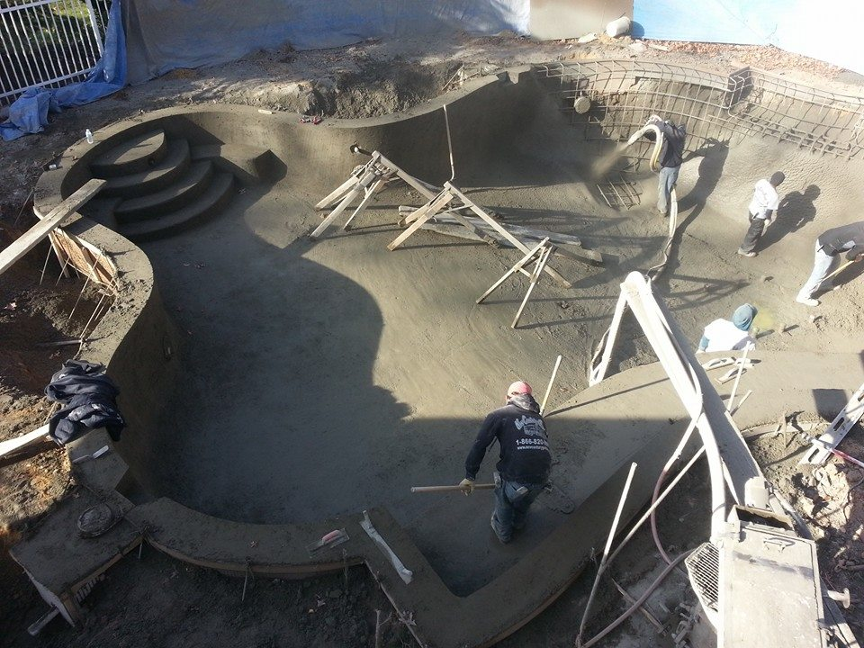 Gunite Swimming Pool Contractor NJ