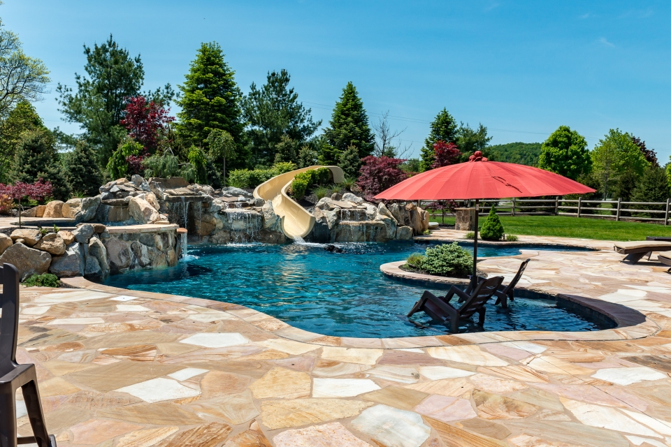 Nj Pool And Spa Designs Custom Inground Swimming Pools And Spas In New Jersey