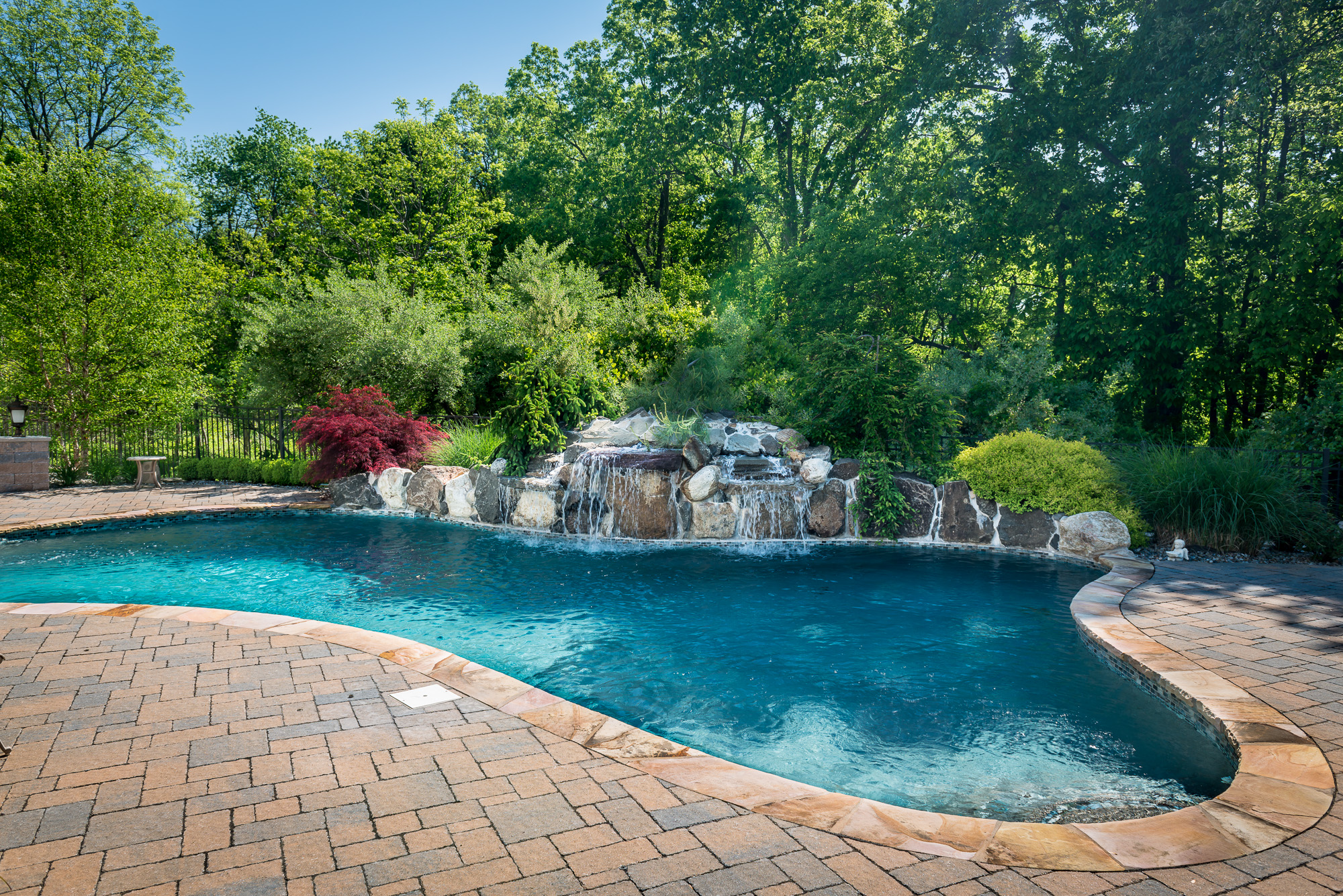 Inground pools chester 1 pools by design new jersey 1 for Pool design nj