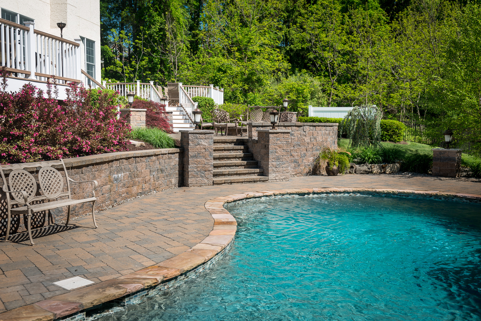 Inground pools chester 1 pools by design new jersey 11 for Pool design new jersey