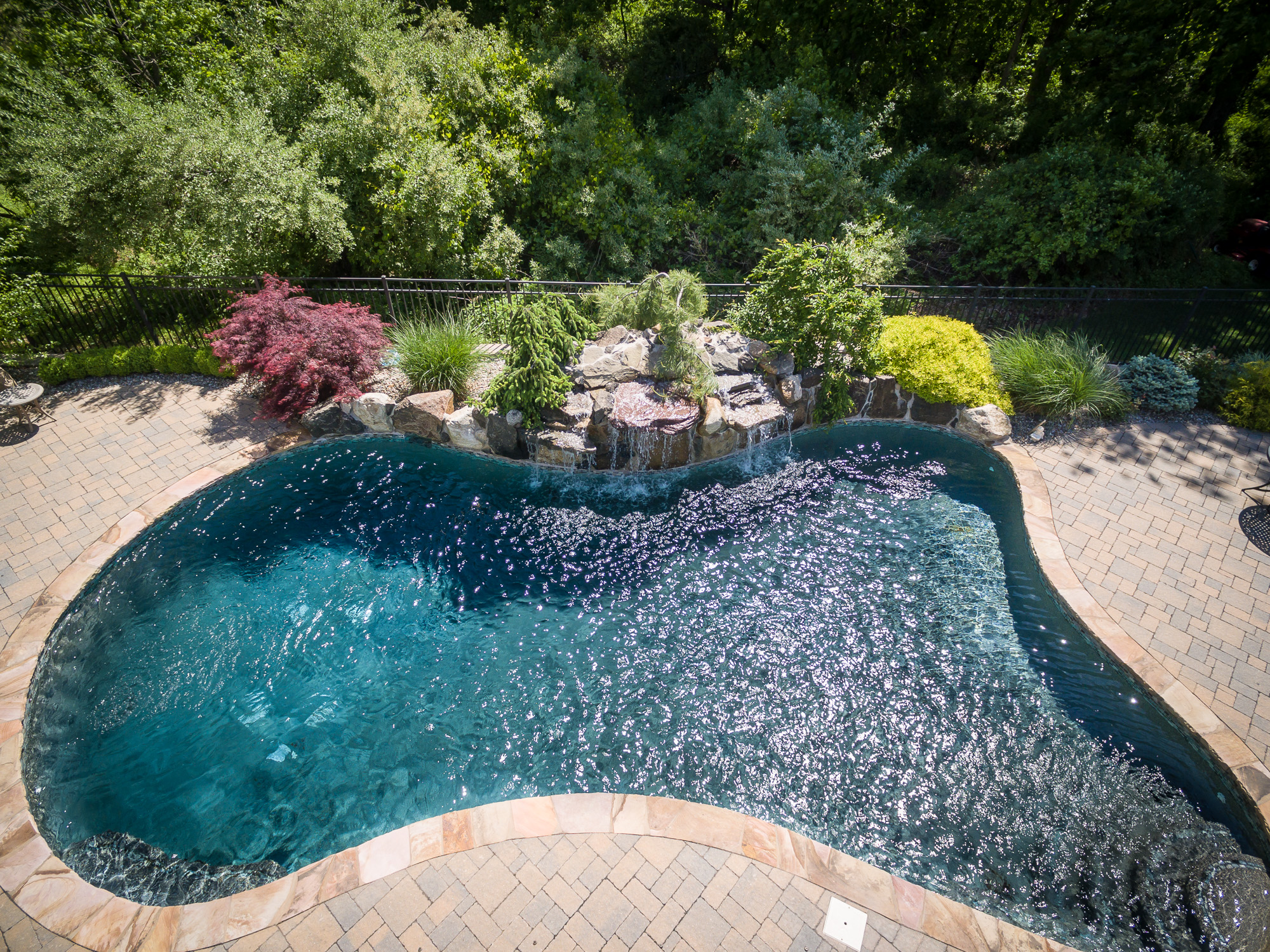 Inground pools chester 1 pools by design new jersey 15 for Pool design hamilton nj