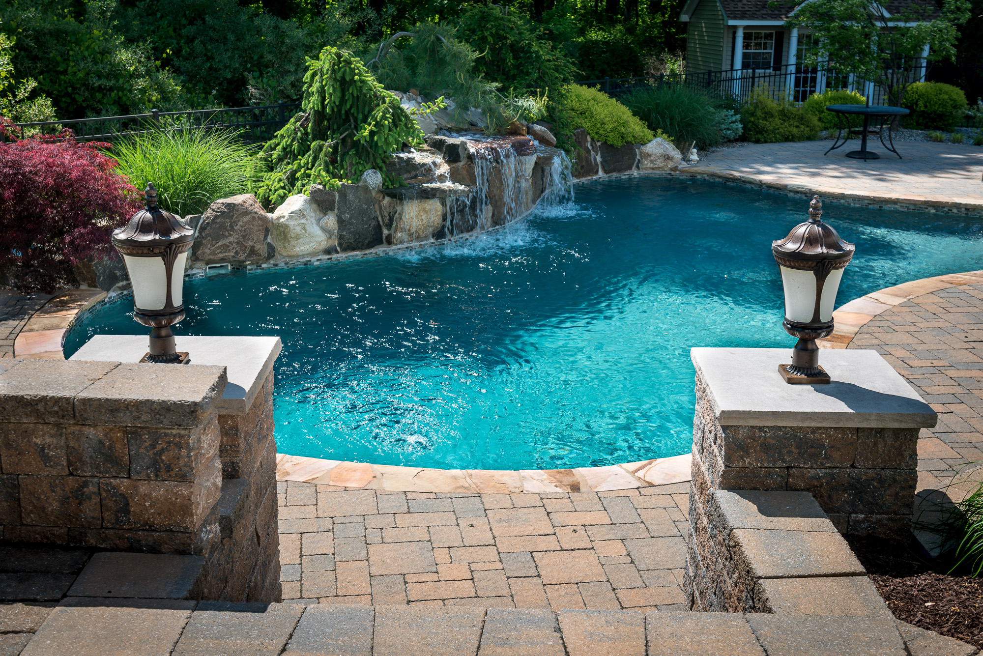Inground pools chester 1 pools by design new jersey 2 for Pool design new jersey