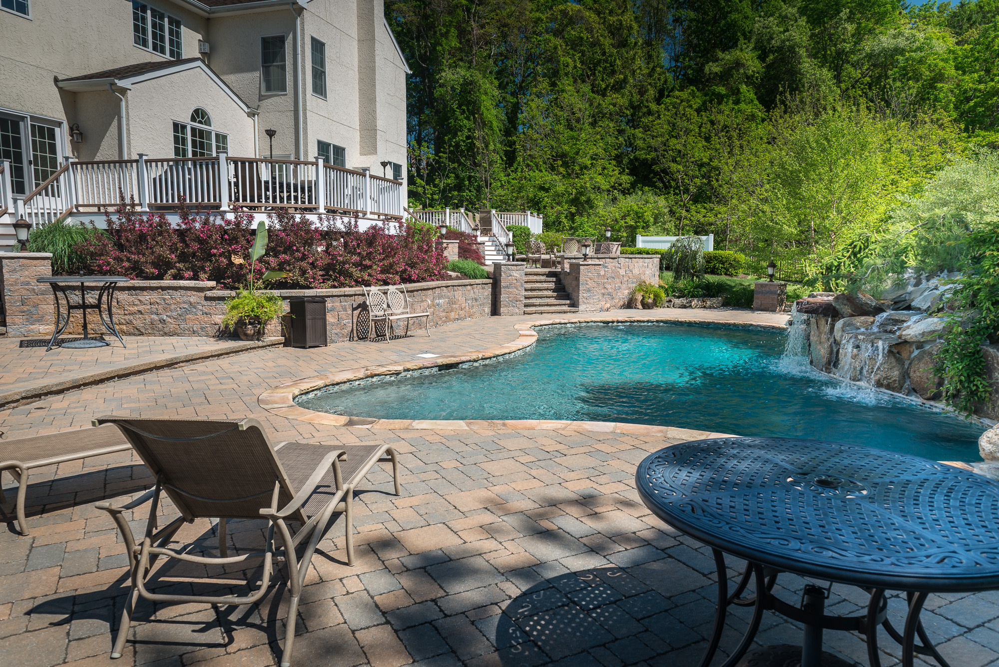 Inground pools chester 1 pools by design new jersey 7 for Pool design hamilton nj