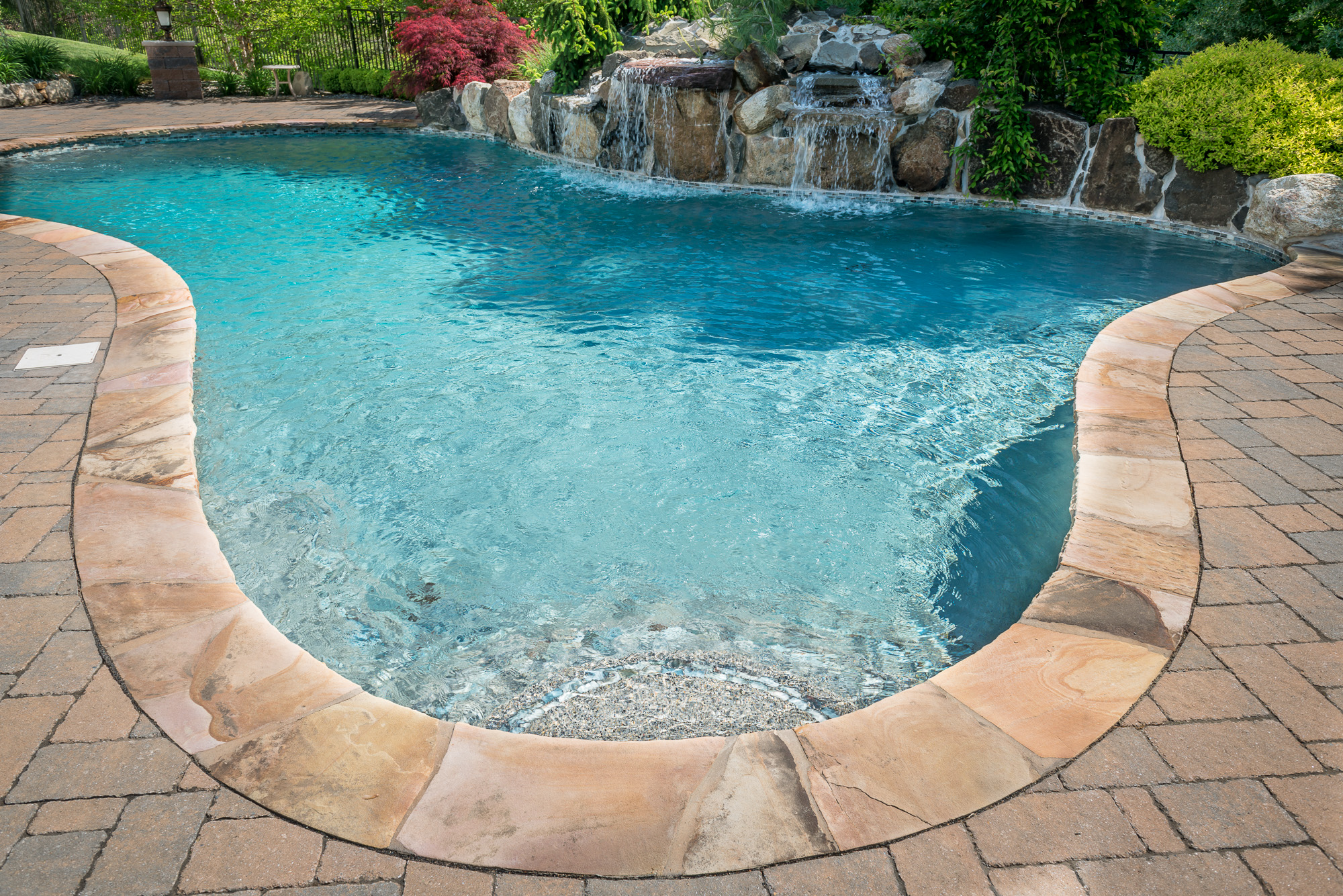 Inground pools chester 1 pools by design new jersey 8 for Pool design nj