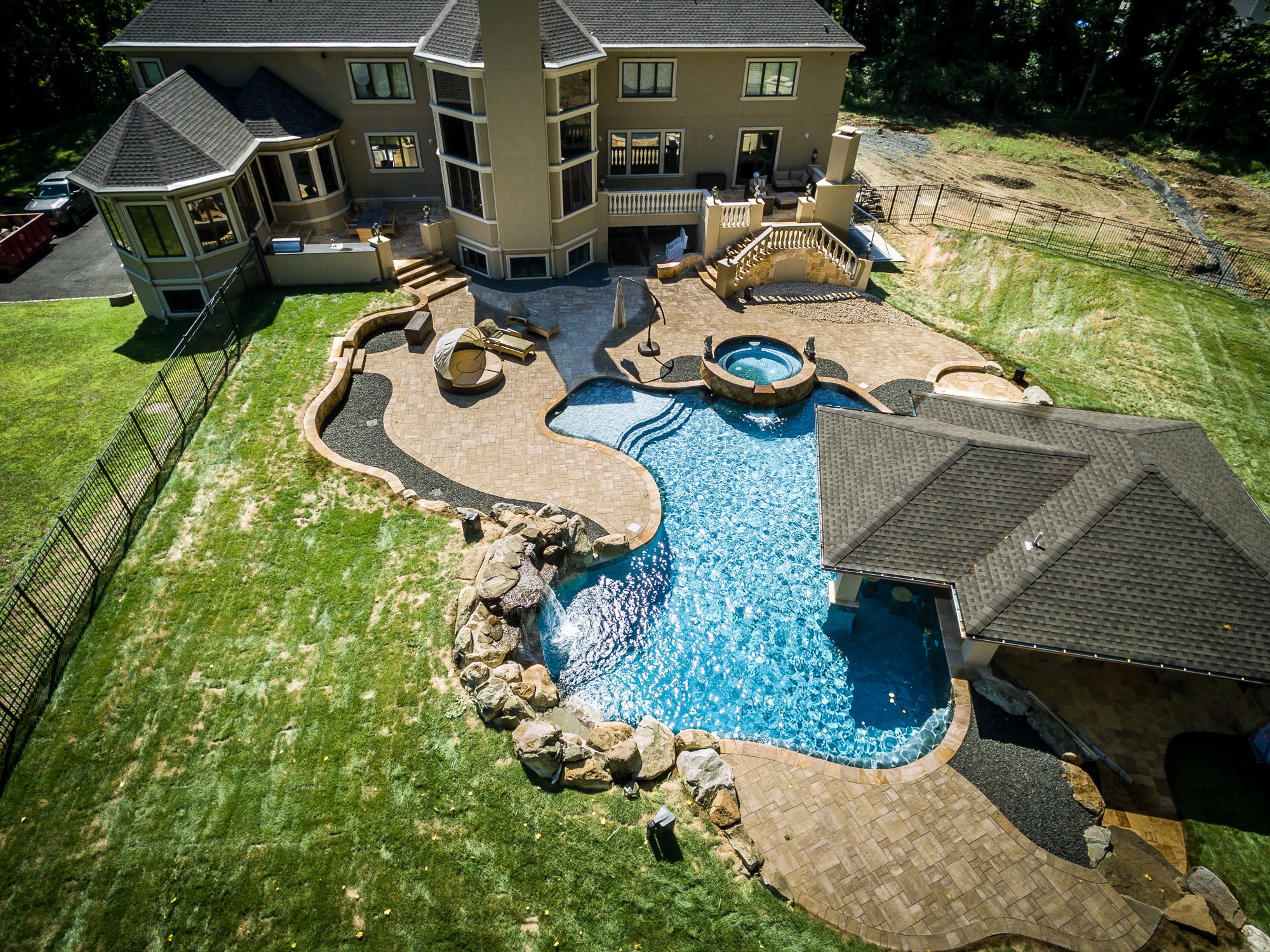 Home; Inground Pools Holmdel Pools By Design New Jersey 23