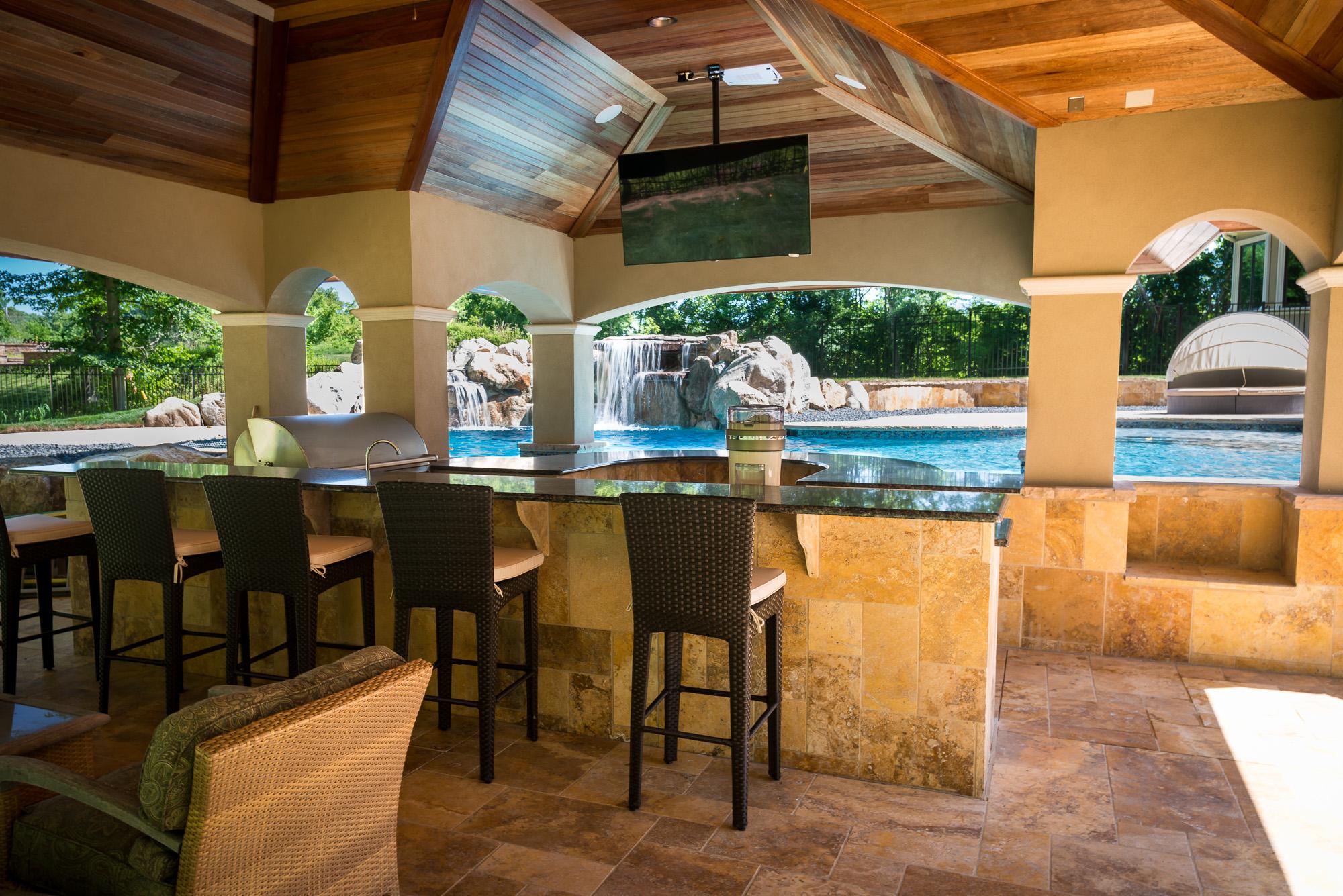 Holmdel NJ - Custom Inground Swimming Pool Design & Construction