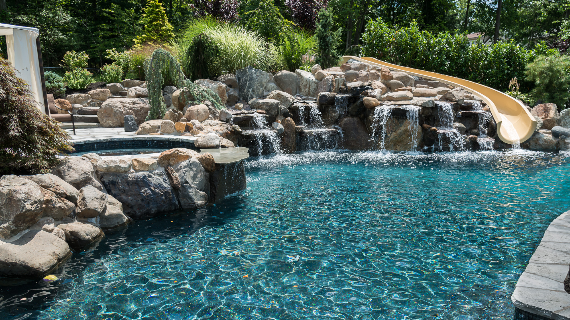 Inground pools livingston nj pools by design new jersey for Pool design hamilton nj