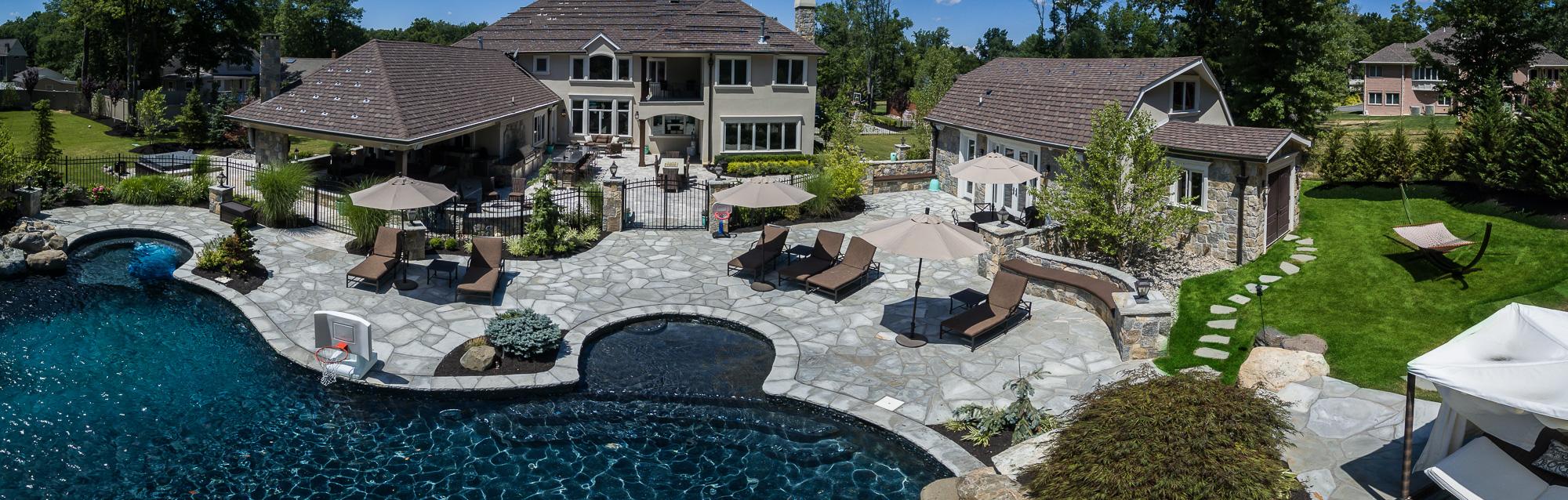 livingston nj custom inground swimming pool design u0026 construction