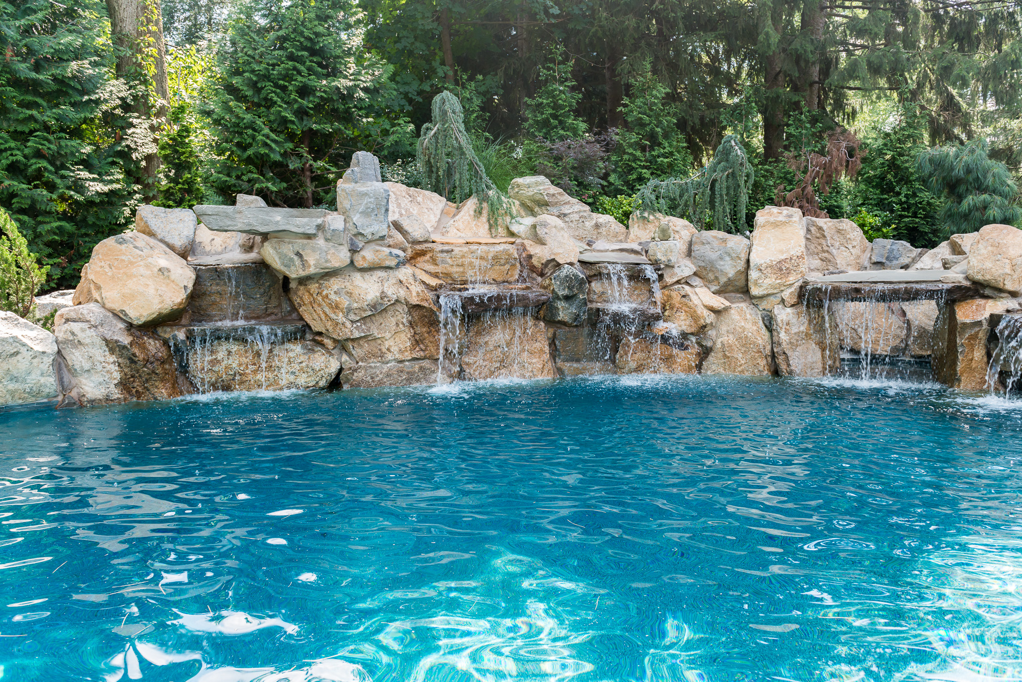 New providence nj custom inground swimming pool design for Pool design inc bordentown nj