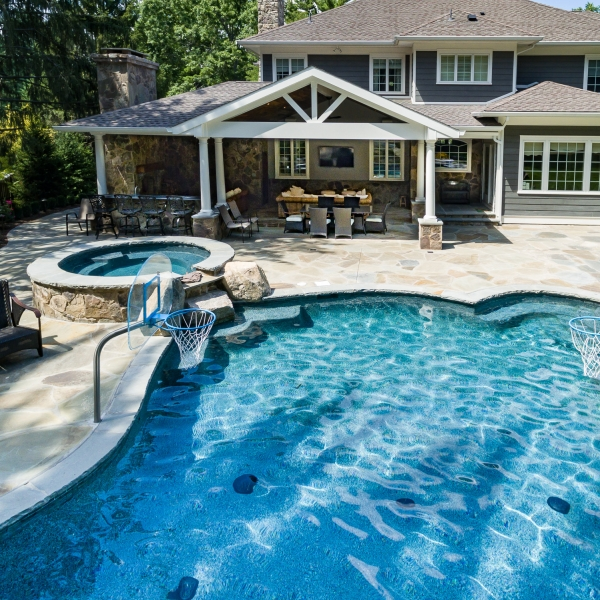 Inground Pools New Providence NJ By Pools By Design New Jersey ...
