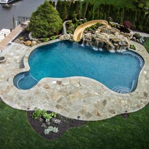 Custom Inground Pool Design and Install Oceanport NJ