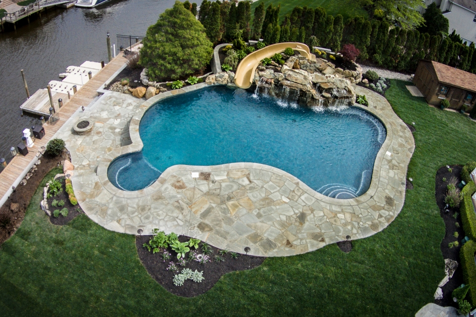 Inground Pools Oceanport NJ By Pools By Design New Jersey