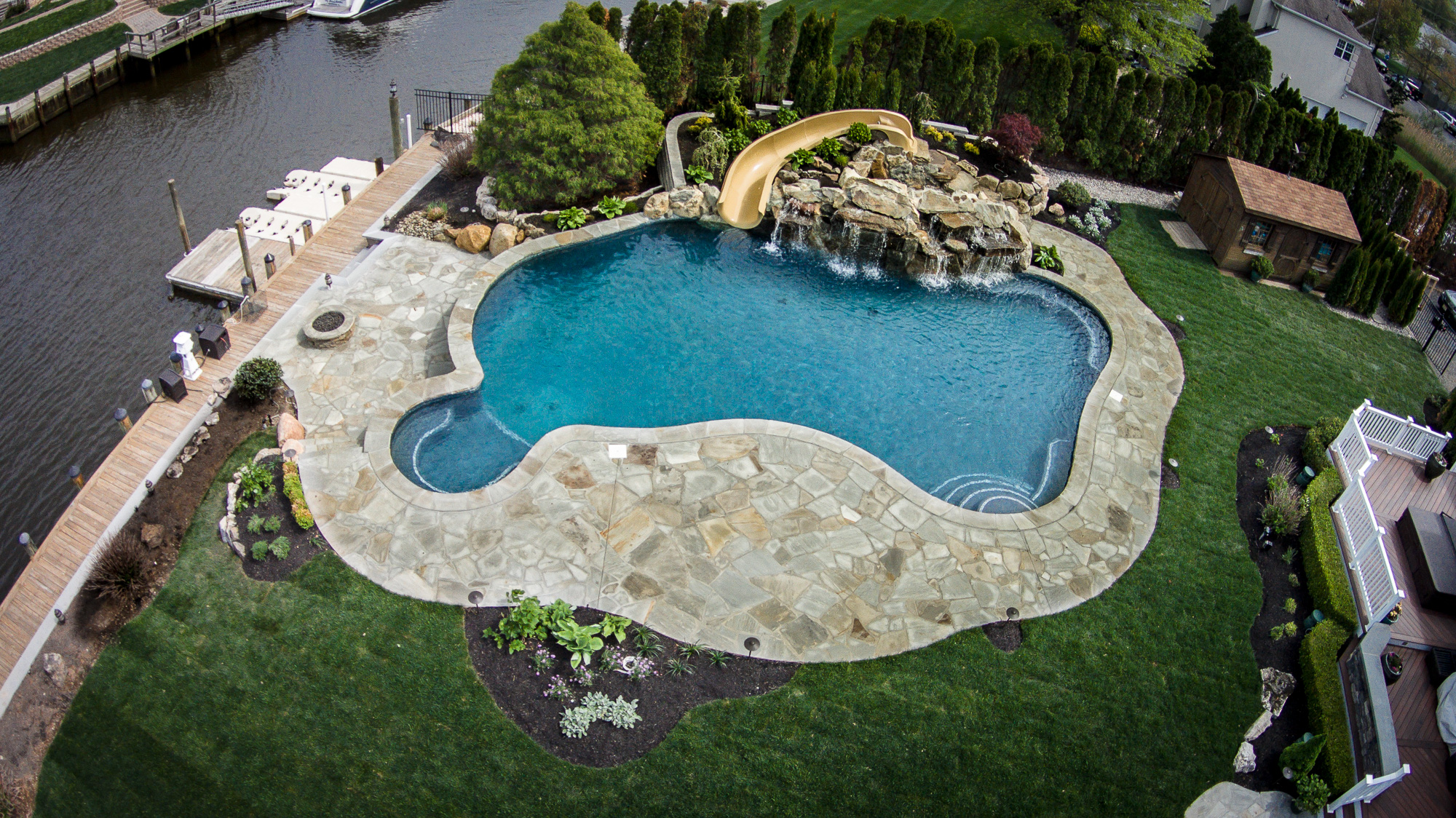 Inground Pools Oceanport NJ By Pools By Design New Jersey ...