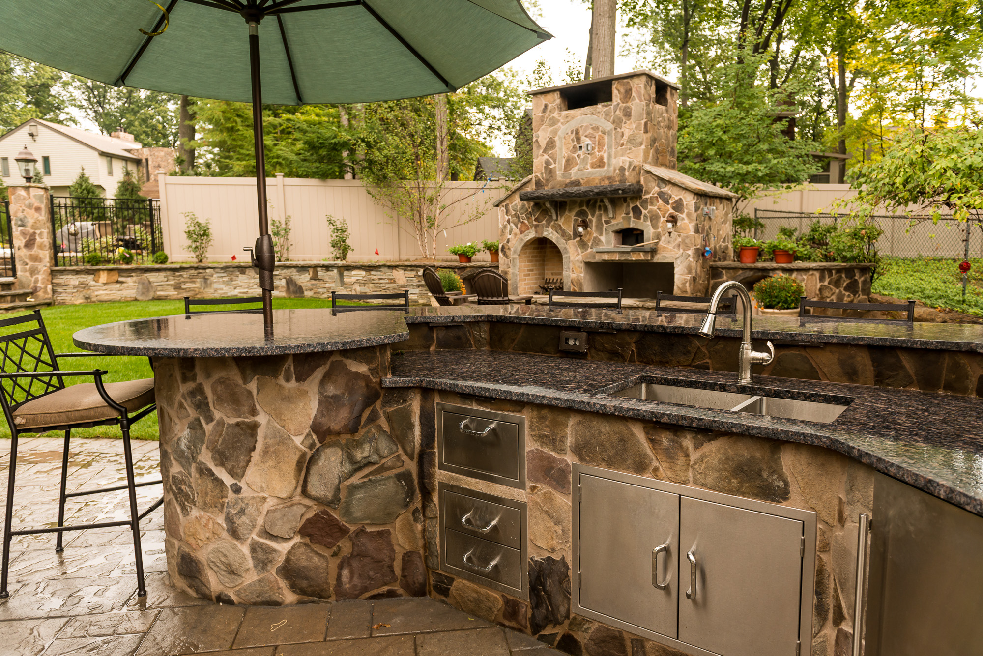 inground pools rivervale by pools by design new jersey custom