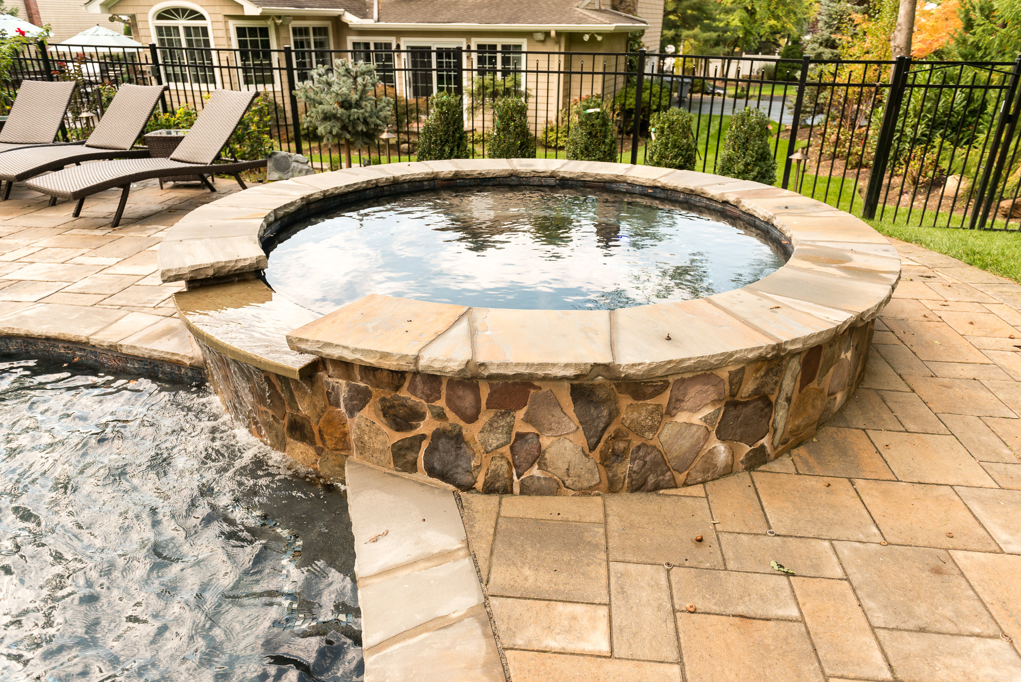Inground Pools Rivervale NJ By Pools By Design New Jersey