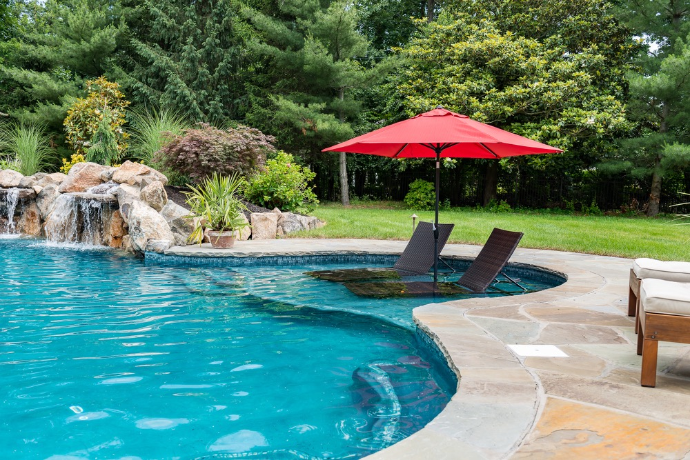 Inground pools rumson nj by pools by design new jersey for Pool design hamilton nj