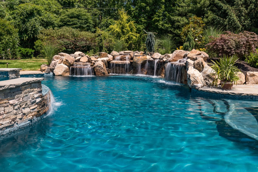 Inground Pools Rumson NJ by Pools by Design New Jersey - Custom ...