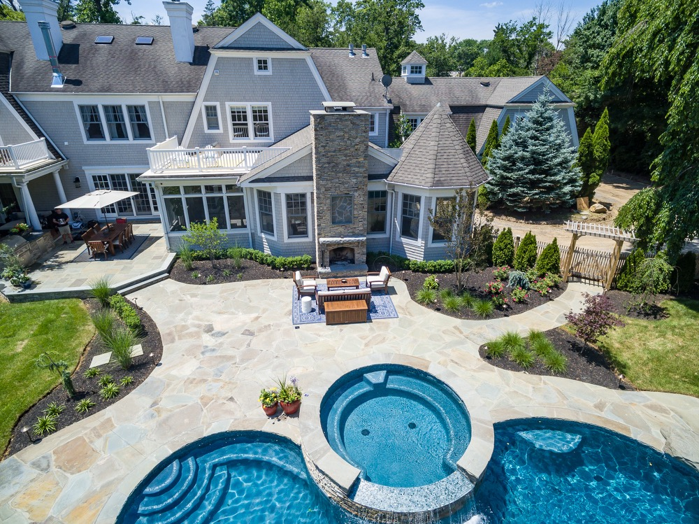 Inground pools rumson nj by pools by design new jersey for Pool design inc bordentown nj