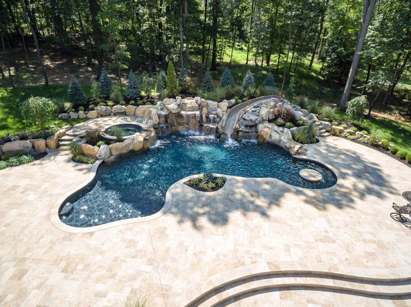 Inground Pools Warren NJ By Pools By Design New Jersey