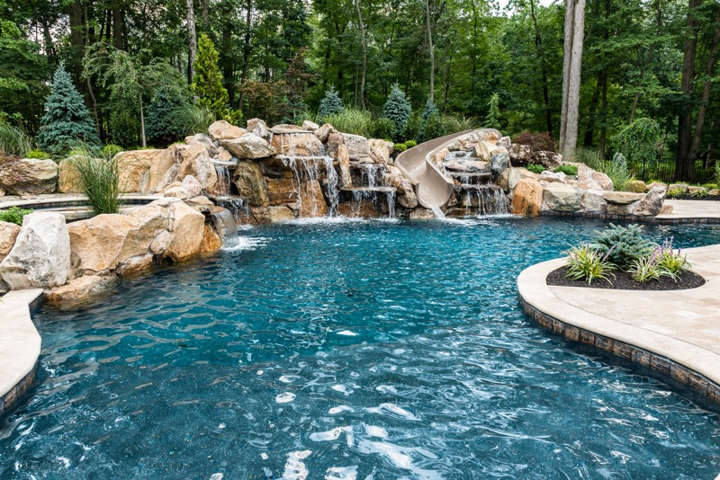 Inground pools warren nj by pools by design new jersey for Pool design new jersey