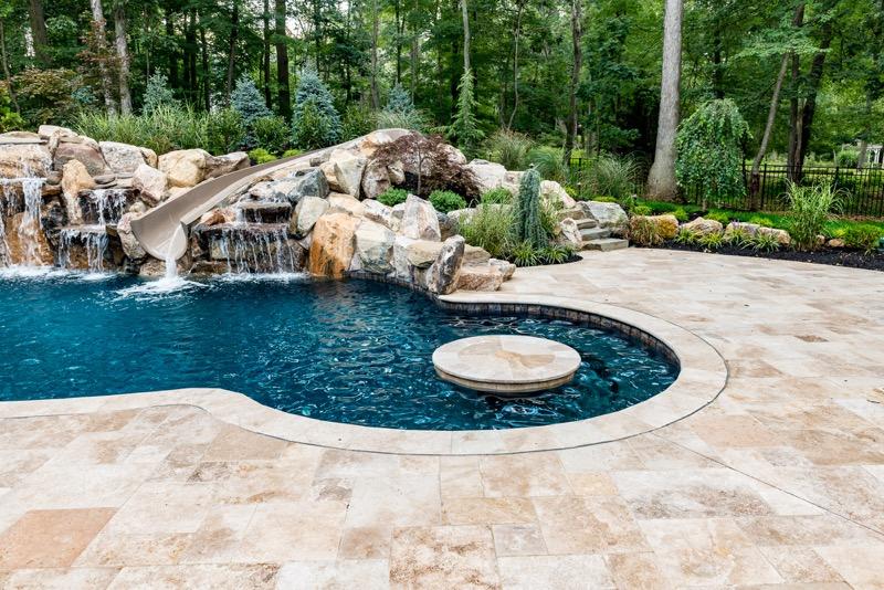 Warren Nj Custom Inground Swimming Pool Design