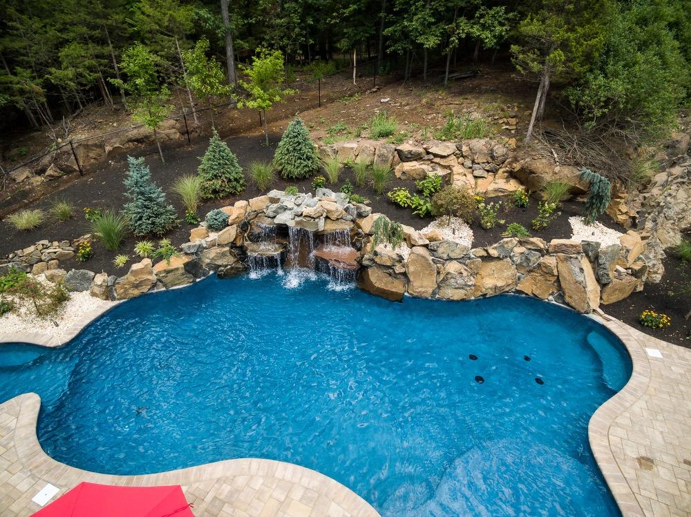 Custom Inground Pools inground pools wayne njpoolsdesign new jersey - custom