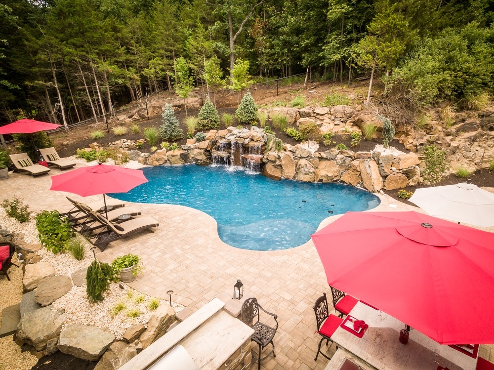 Captivating Inground Pools Wayne NJ By Pools By Design New Jersey