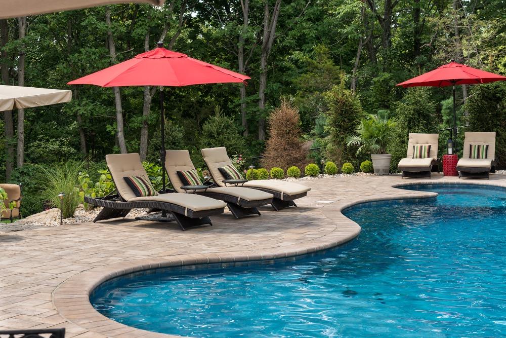 Wayne nj custom inground swimming pool design construction for Outdoor pools in nj