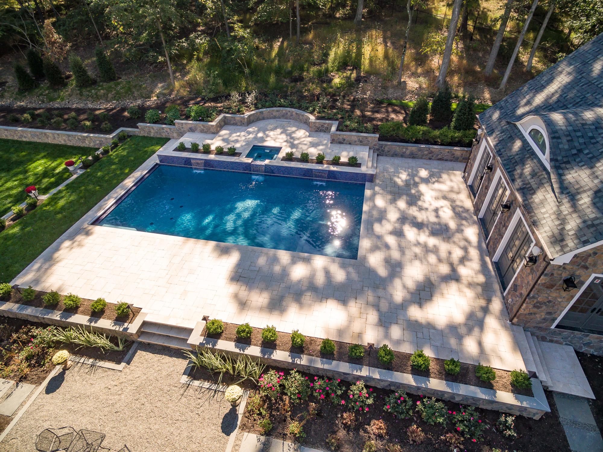 Pools by Design NJ - Watchung NJ - Custom Inground Swimming Pool ...