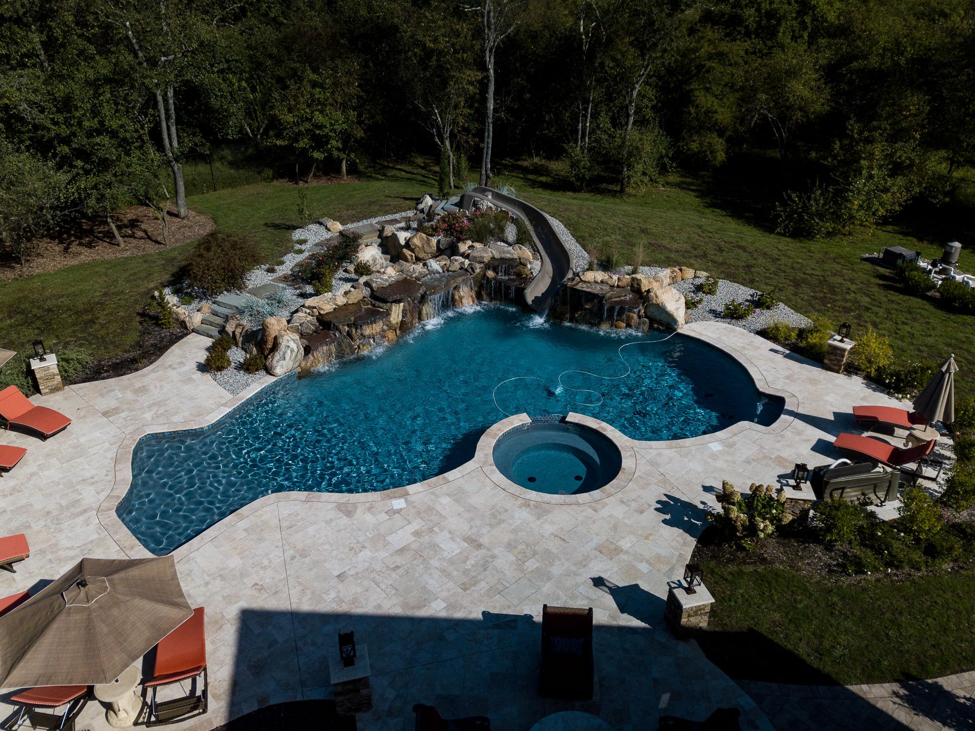 Inground Pools Pennington Nj Pools By Design New Jersey 11 Custom