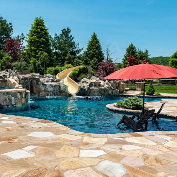 Inground Pools Bloomsbury By Design New Jersey