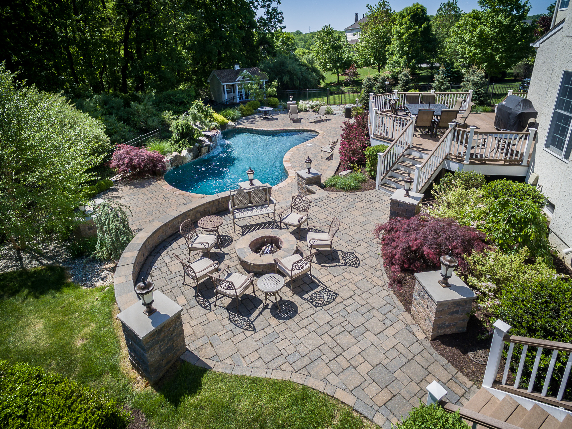 Chester Nj Custom Inground Swimming Pool Design Construction