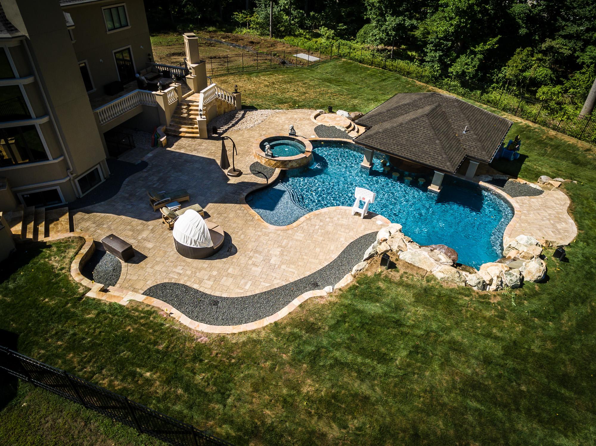 Holmdel Custom Inground Swimming Pool Design Amp Construction