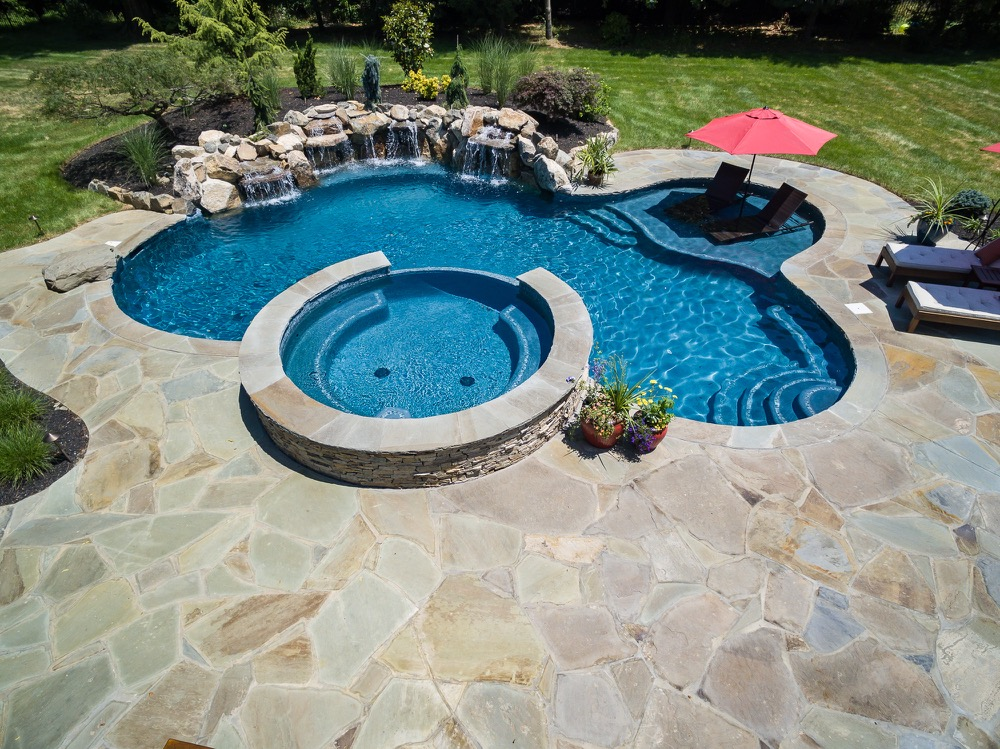 Rumson NJ - Custom Inground Swimming Pool Design & Construction