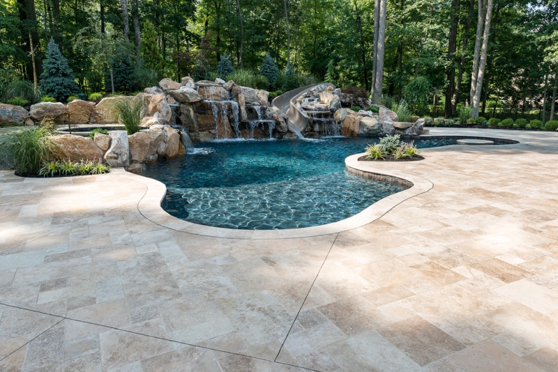 Warren Nj Custom Inground Swimming Pool Design