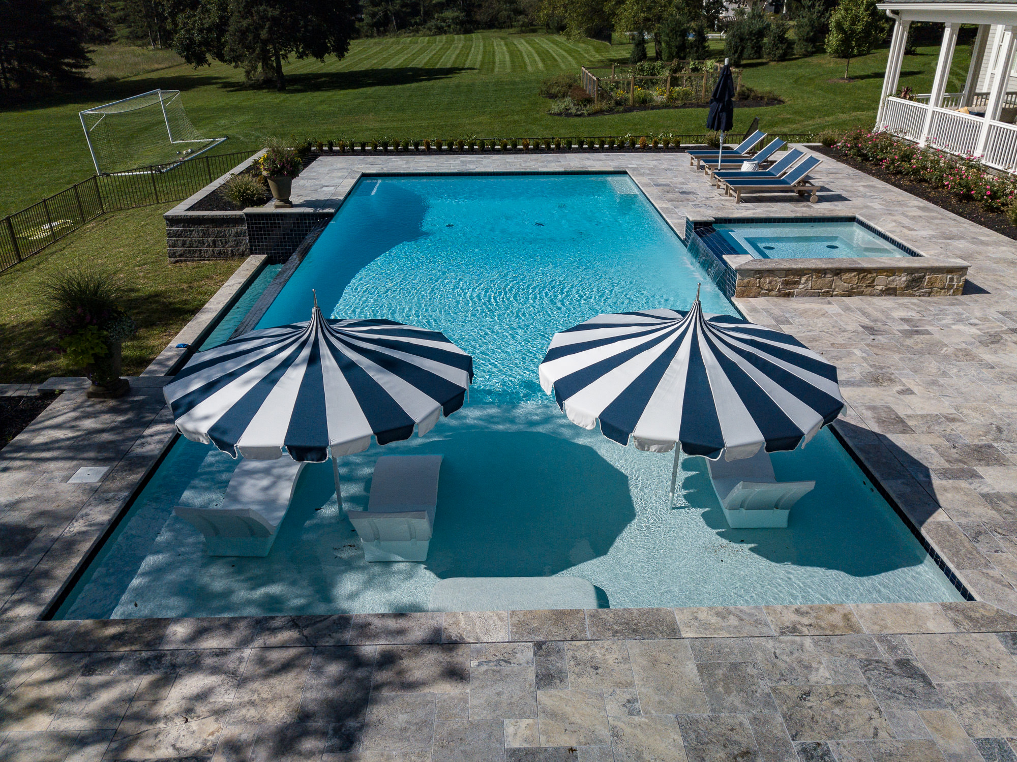 Inground Pool Design and Build in Montgomery NJ by Pools